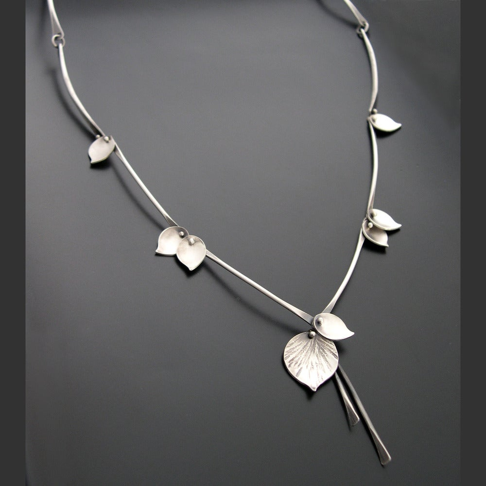 Image of Aspen Rain Necklace, Sterling