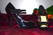 Image of Patent Leather Sandals