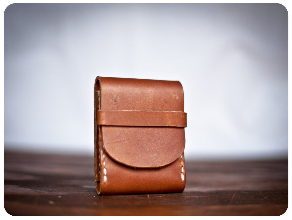 Image of FisherMan's Wallet - Whiskey Tan