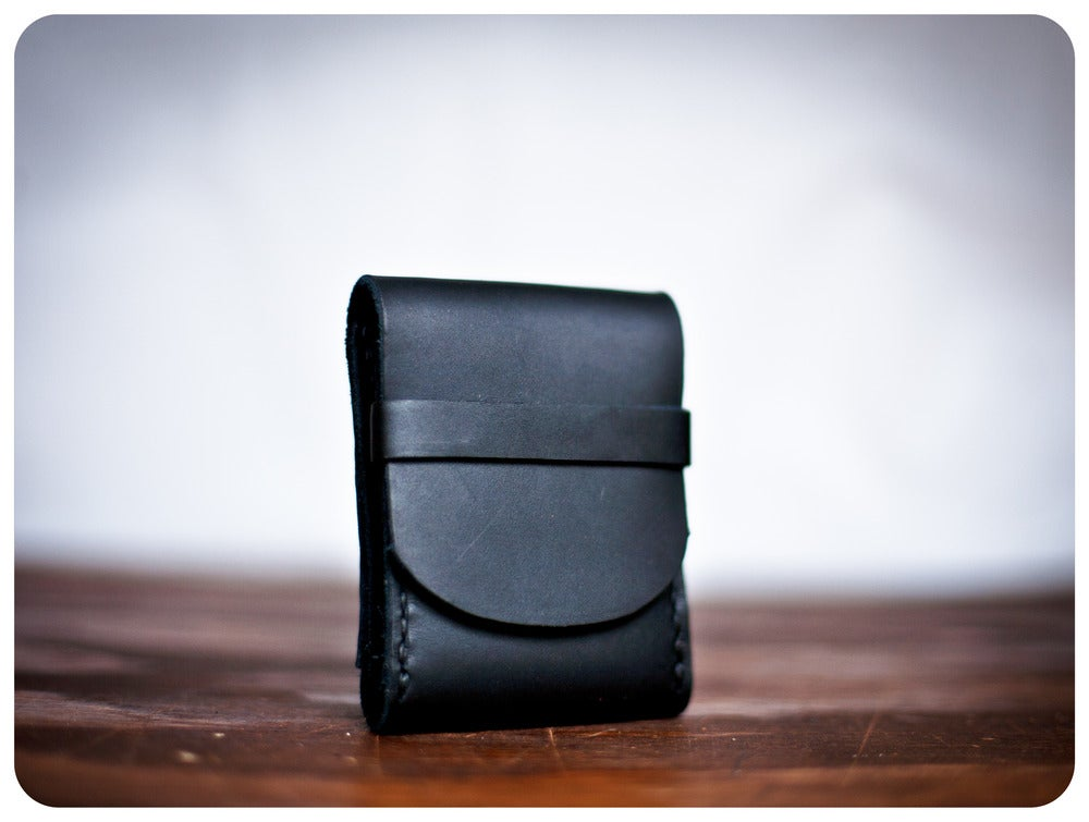 Image of FisherMan's Wallet - Coal Black