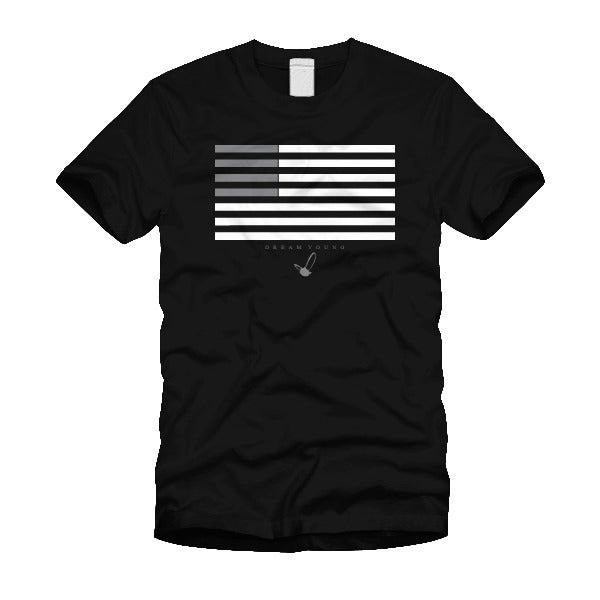 "Image of ""FLAG GREY"" BLACK/TEE"
