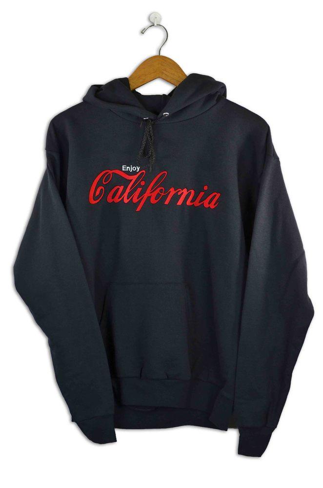Image of Enjoy California Black Hoody