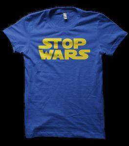 "Image of Men's - ""Stop Wars"" T-Shirt"