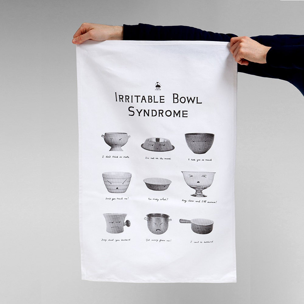 Image of Irritable Bowl Syndrome — Tea Towel