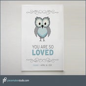 "Image of ""You Are So Loved"" (Owl)"