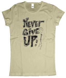 Image of female never give up