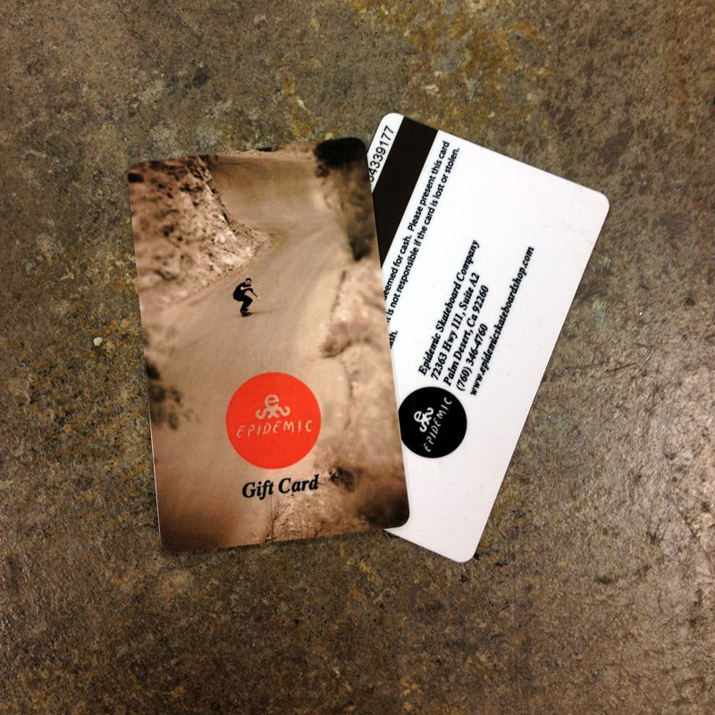 Image of Epidemic Gift Card