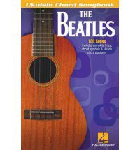 Image of The Beatles Ukulele Chord Songbook with 100 Songs