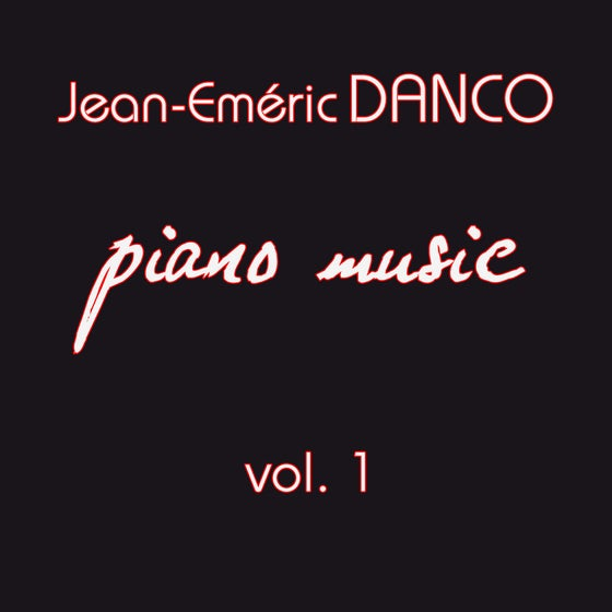 "Image of CD ""Piano Music, vol.1"" (tirage limité)"