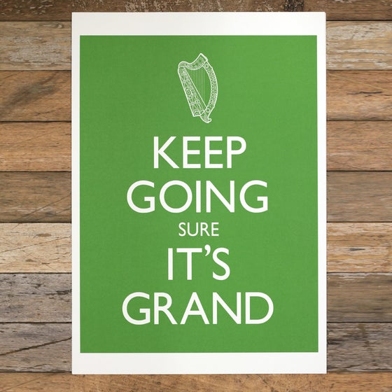 Image of KEEP GOING A3 (print only)