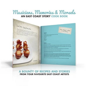 Image of Autographed Musicians, Memories & Morsels~An East Coast Story Cook Book (save $10!