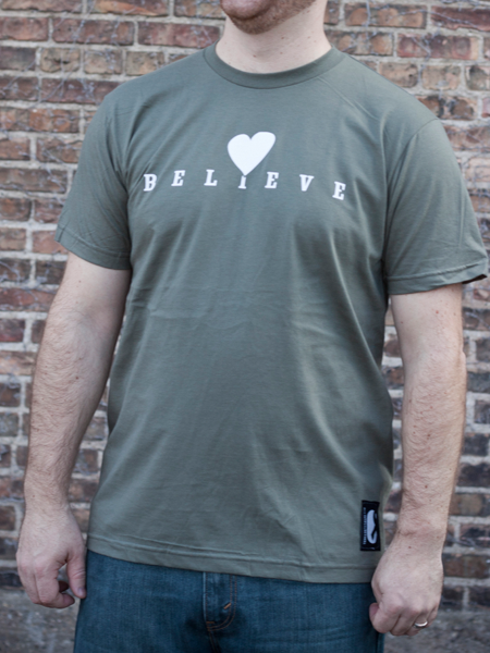 Image of Believe Tee - Men's