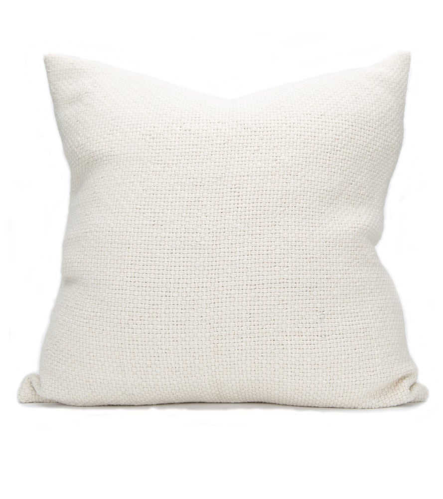 Image of CHURRO PILLOW natural basketweave