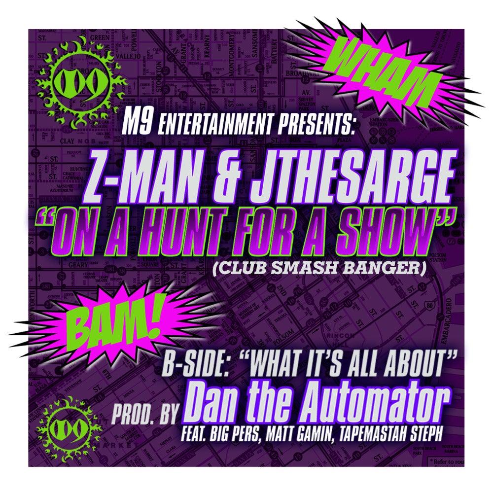 """Image of Z-Man & JtheSarge - 12"""" Vinyl"""
