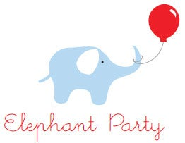 Image of Elephant Party Printable Pack (personalised invite)
