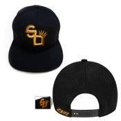 Image of SO Logo GOLD SNAP BACK