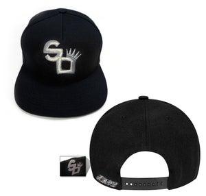 Image of SO Logo SILVER SNAP BACK