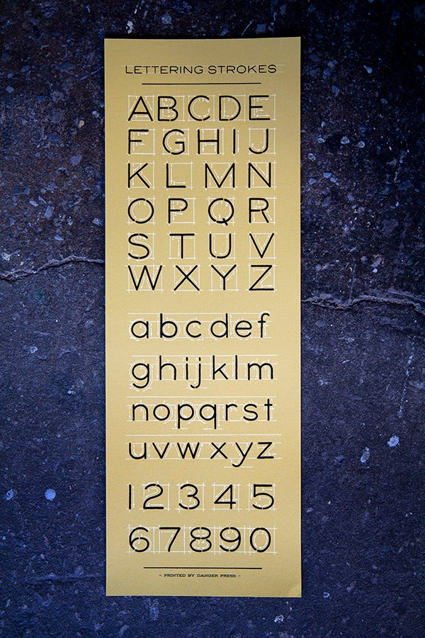 Image of Lettering Strokes