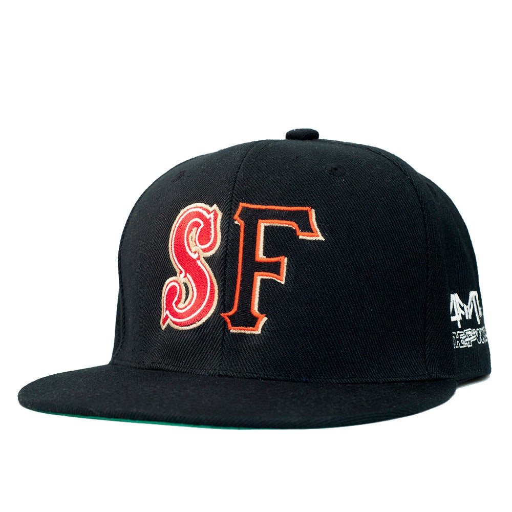 "Image of Hella Local - ""Two Teams"" Snapback Cap - theFword x 4fifteen collab"