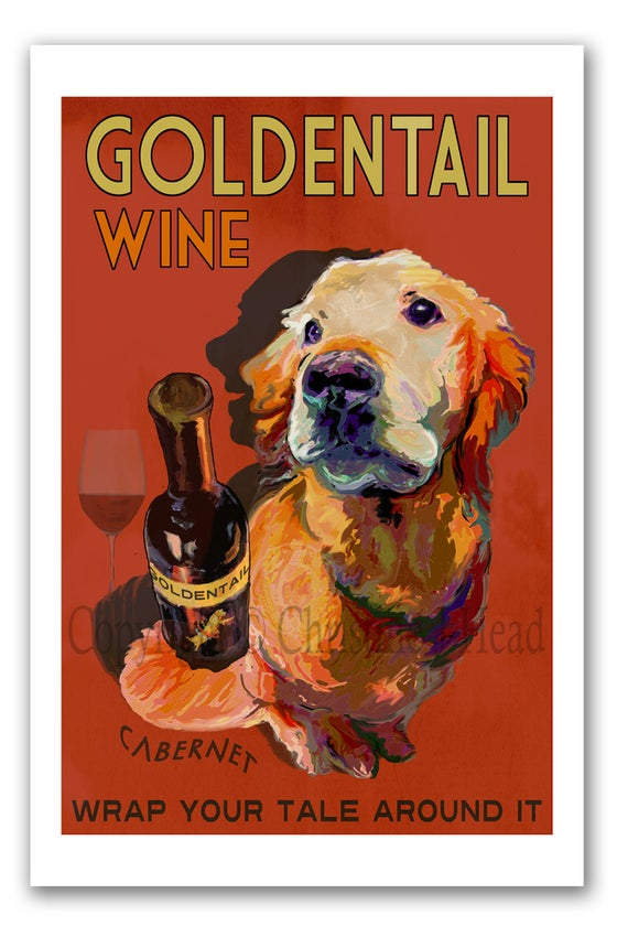 Image of GOLDENTAIL WINE - Wrap Your Tale Around It