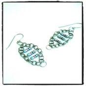 Image of Resist3 Panel Earrings