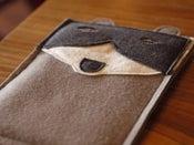 Image of Mr. Archibald Raccoon iPad mini Case