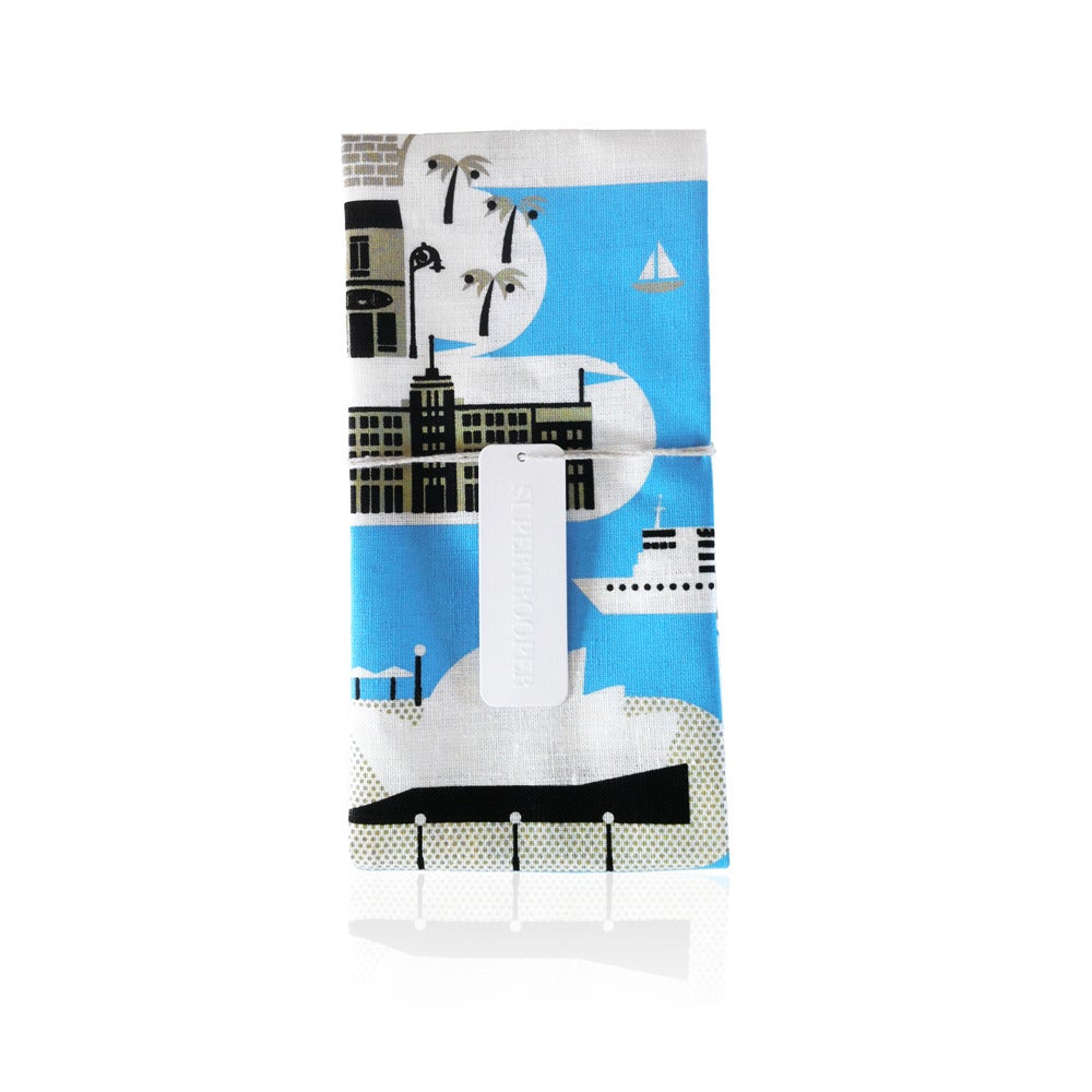 Image of Sydney Tea Towel Super Places Collection