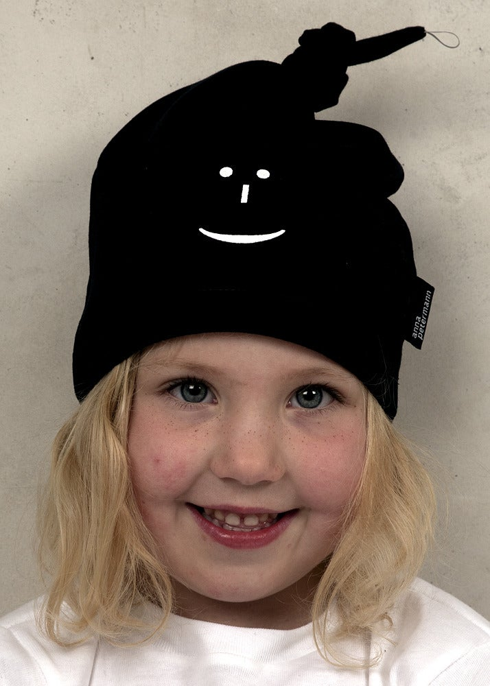 Image of Tie Cap/Knutmössa Smiley