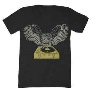 Image of V-Neck DJ Owl