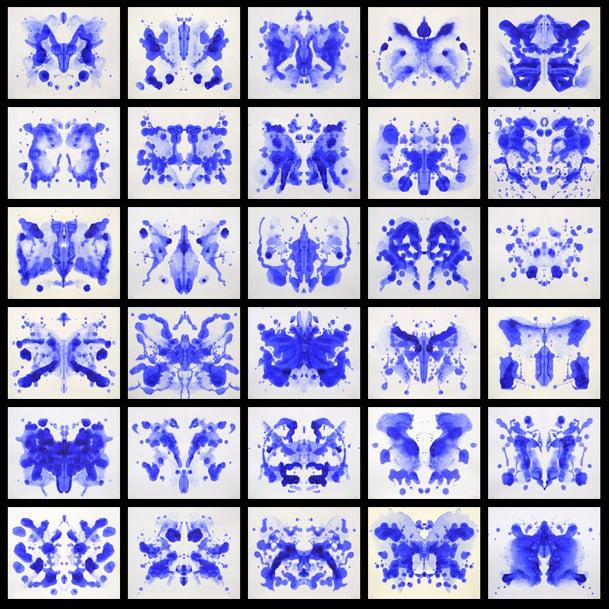 Image of Martha Klein's Inkblot (No.1-30)
