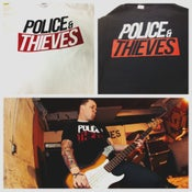 Image of POLICE & THIEVES LOGO T-SHIRT