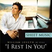 Image of I Rest In You - sheet music (digital download)