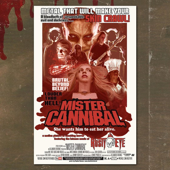 Image of Mr. Cannibal Poster