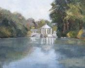 Image of Piedmont Park Pond 16 x 20
