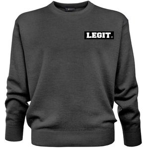 "Image of ""LEGIT"" 'Simple' crew neck"