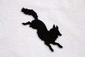 Image of Fox Silhouette Brooch