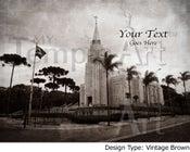 Image of Curitiba Brazil LDS Mormon Temple Art Sale 001 - Personalized LDS Temple Art