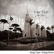Image of Curitiba Brazil LDS Mormon Temple Art Sale 001 - Personalized LDS Temple Art
