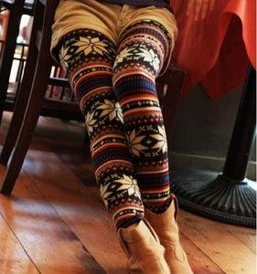 Image of Snowflake Leggings