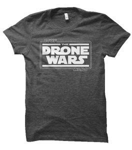"""Image of Men's - """"Stop The Drone Wars"""" T-Shirt"""