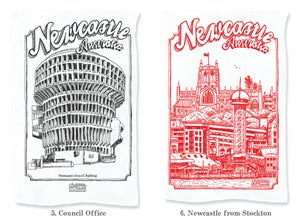 Image of Newcastle tea towels