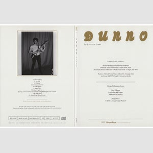 "Image of LORENZO SENNI ""Dunno"" CD"