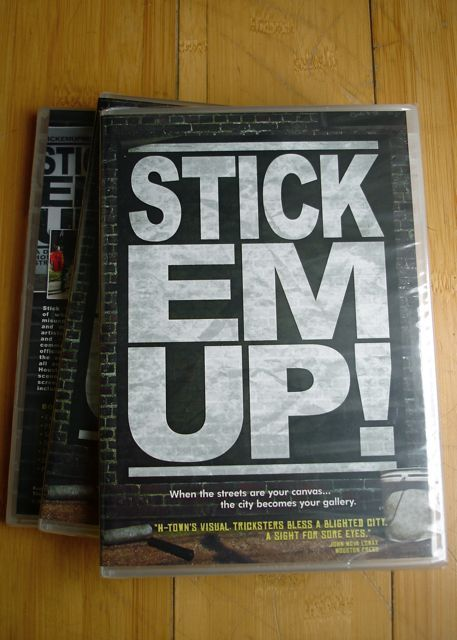 Image of stick 'em up DVD