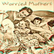Image of Worried Mothers-S/T cassette