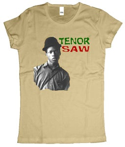 Image of female tenor saw