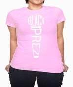 Image of Womens Microphone Tee - Pink