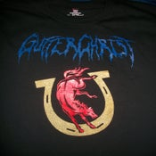 Image of GUTTER CHRIST CULT  T SHIRT (IN STOCK)