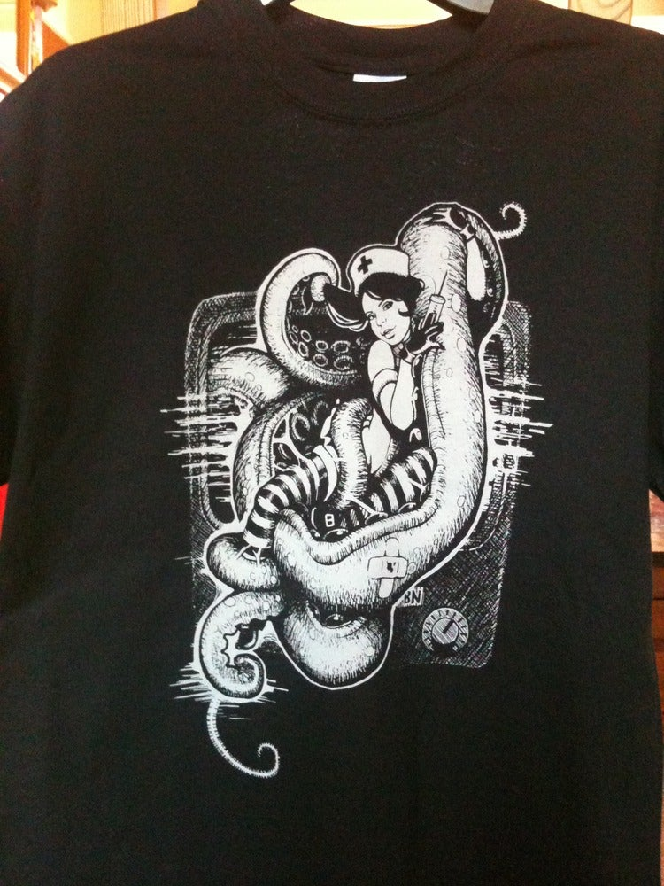 Image of Tentacle Nurse Tee. Ladies.