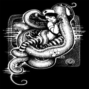 Image of Tentacle Nurse Tee. Mens.