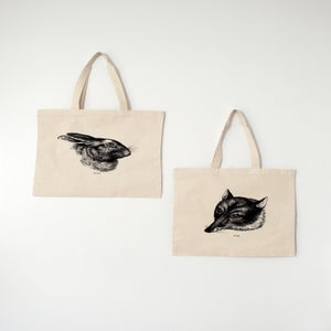 Image of Fox & Hare Tote Bag